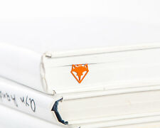 "Atelier Article - Gift Steel bookmark - Fox Face (Orange) - 7""/17 cm long"