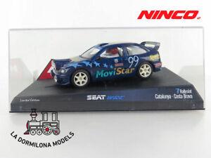 NINCO-50182-SEAT-CORDOBA-WRC-034-CATALUNYA-C-BRAVA-034-SLOT-SCALEXTRIC-NUEVO