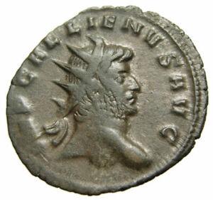 Gallienus-E-Antoninianus-259-AD-Emperor-veiled-Milan-mint