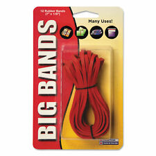 Alliance Big Bands Rubber Bands 7 X 18 Red 12pack All00700