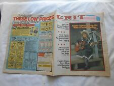 GRIT-DECEMBER 11,1983-ANGELA CAPERS:10-YEAR-OLD WITH A YEN FOR STARDOM