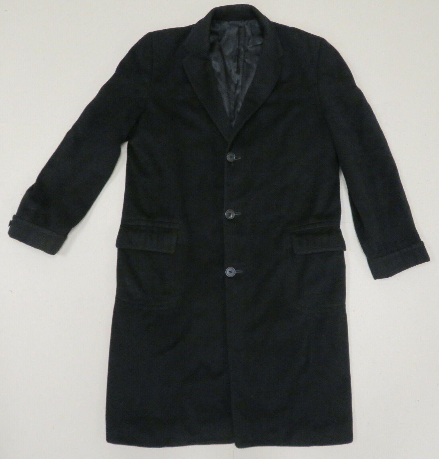 Hampshire Clothes Mens 100% Cashmere Overcoat Top Coat Long