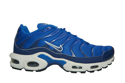 Details about Nike Air Max Plus Tuned 1 Trainers Indigo ForceMidnight NavyBlack 852630 409