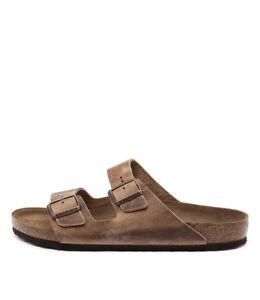 New-Birkenstock-Arizona-Men-039-s-Tobacco-Mens-Shoes-Casual-Sandals-Sandals-Flat