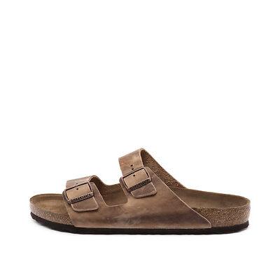 New Birkenstock Arizona Men's Tobacco Mens Shoes Casual Sandals Sandals Flat