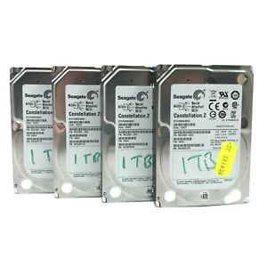 "Job Lot 4x 2.5"" Dell Constellation.2 SAS 6 Gbps 1TB Hard Drives - ST91000640SS"