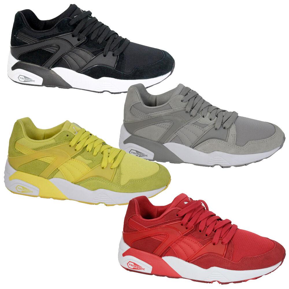 Puma lightweight zapatos men future amarillo gris rojo negro lace up