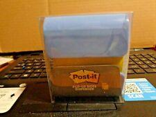 Post It Pop Up Note Dispenser 3 X 3 Includes 90 Sheets Blue