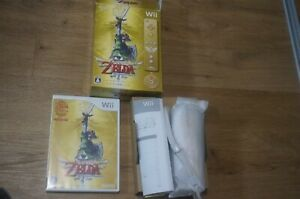 Gold-Wii-Remote-ZELDA-SKYWARD-SWORD-Special-Edition-Controller-Tested-Boxed