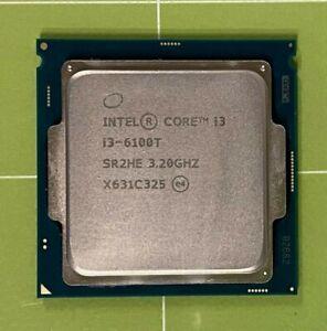 Intel Core i3-6100T 3M SR2HE 3.20 GHz Dual-Core LGA 1151  CPU Processor