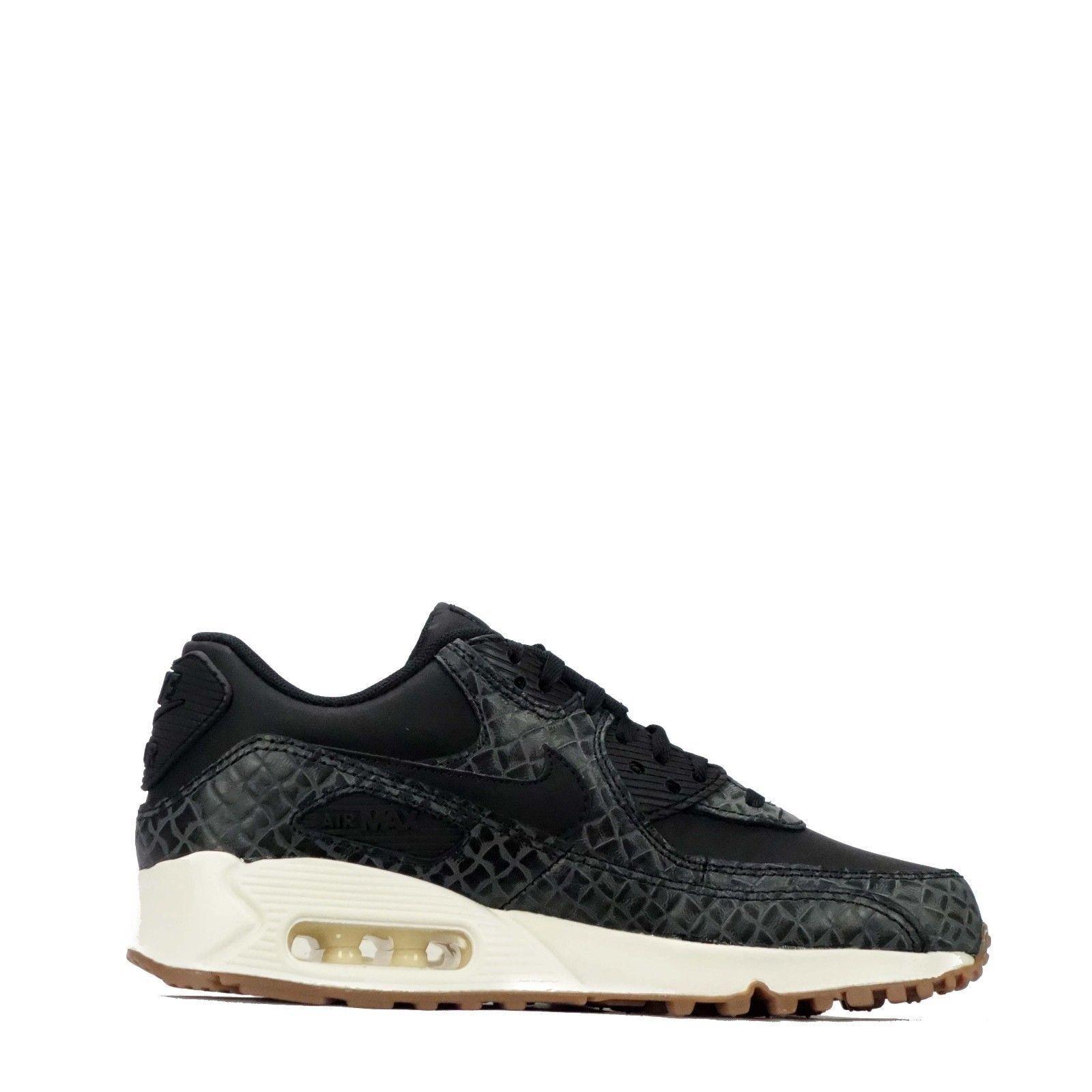 Nouvelles Baskets Femmes Nike Air Max 90 Premium Chaussures Baskets Nouvelles Taille: 8 Couleurs: 6993b7