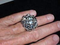 Park Lane Jewelry, d Cascade Ring, Size 8,