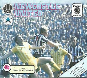 Football-Programme-Newcastle-United-v-Leicester-City-Div-1-20-3-1985
