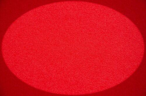 Filz Taschenfilz 0,5lfm Meterware 4mm stark 1m breit imprägniert Rot