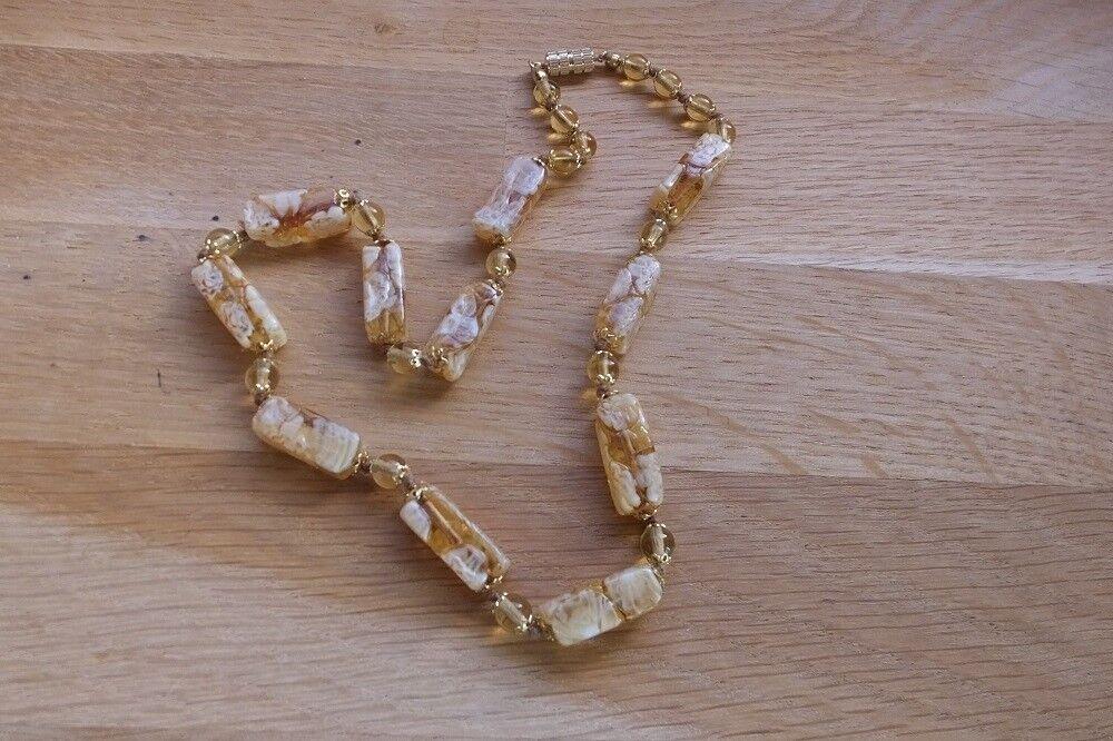 Collier en perles perles perles de murano authentiques 895a95