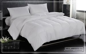 Luxury Goose Feather & Down Duvet Quilt **Extra Warm 15 Tog - All ... : feather and down quilts - Adamdwight.com