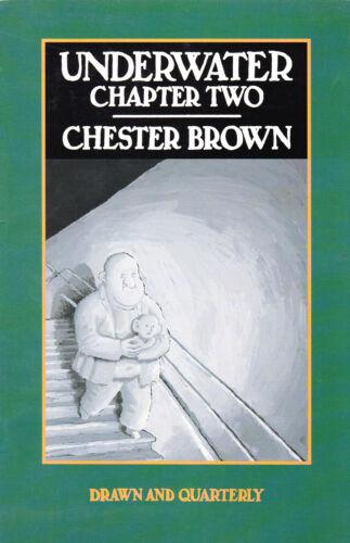 CHESTER BROWN UNDERWATER NUMBER 2 DECEMBER 1994 MATTHEW 12:46-13:58
