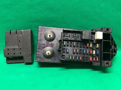01 Ford F150 F250 TRUCK 4X4 INTERIOR DASH FUSEBOX FUSE BOX 1L3T-14A067-BA
