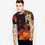 Summer-Mens-3D-Print-Short-Sleeve-Casual-Slim-Fit-T-Shirts-Graphic-Tee-Shirt-NEW thumbnail 32