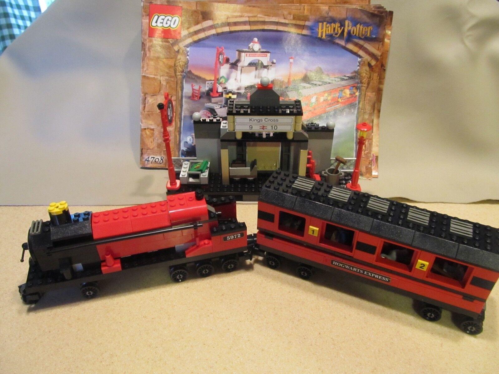 Lego Harry Potter 4708 Hogwarts Express Train & station & minifigs  &  Manual