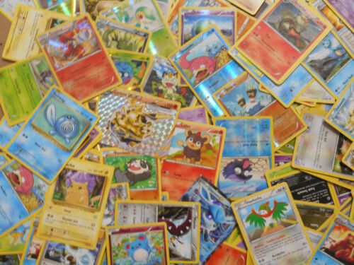 12 Pokemon Cards card lot Holos and Rares