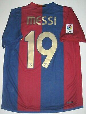 Nike Fc Barcelona Home Shirt 2006 2007 Jersey Fcb Lionel Messi Argentina Ebay