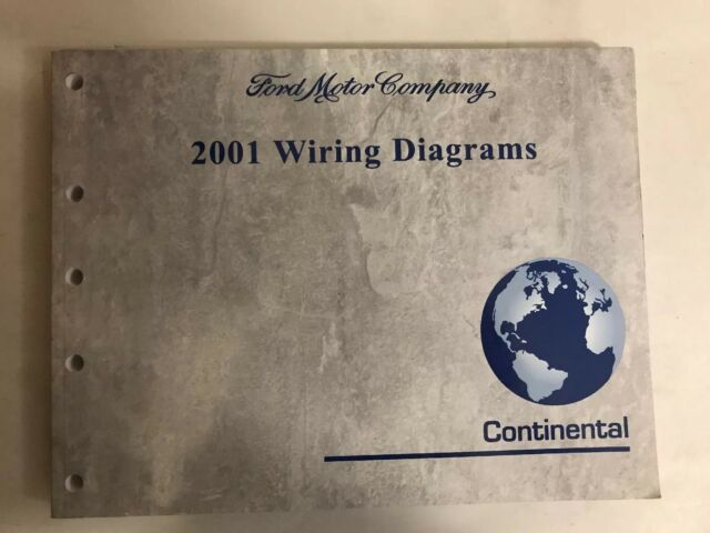 2001 Lincoln Continental Electrical Wiring Diagram Manual