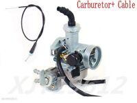 Carburetor W/ Throttle Cable Honda Trx90 Sportrax 90 Carb 1993-2005(description)