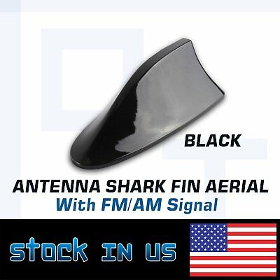 Functional AM//FM BLACK Shark Fin Antenna FITS 2009-2015 Toyota RAV4