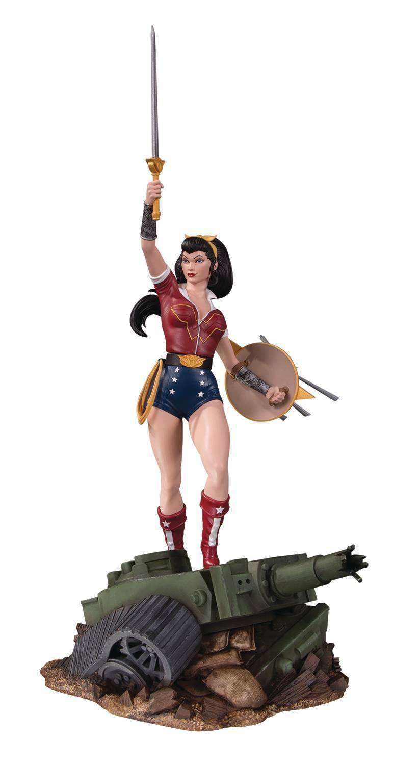 DC Comics Bombshells Wonder Woman Deluxe Statue MINT NEW IN BOX