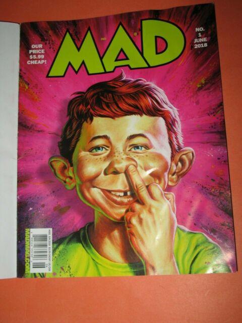 MAD MAGAZINE #1 2018 FIRST ISSUE SPY vs SPY DONALD TRUMP