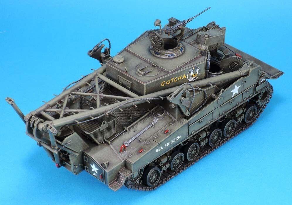 Legend 1297 1 35 M74 TRV TRV TRV Conversion Set (for any Sherman Kit with HVSS) 74a7c1