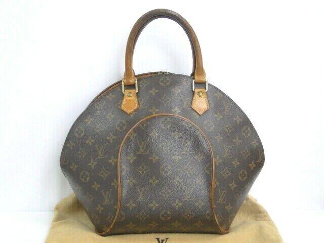 Auth Louis Vuitton Ellipse Mm Handbag Bag Monogram Canvas M51126 For Sale Online Ebay