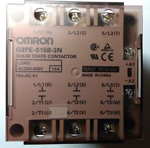 New Original Omron G3PE515B3N DC1224 Solid State Relay for heater