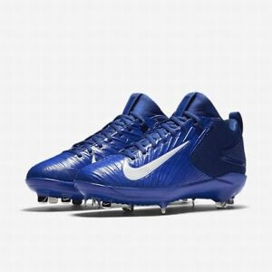 6e05e6bbd68b Nike Trout 3 Pro sz 8-12 Red Blue 856498 White Mid Force Zoom Metal ...