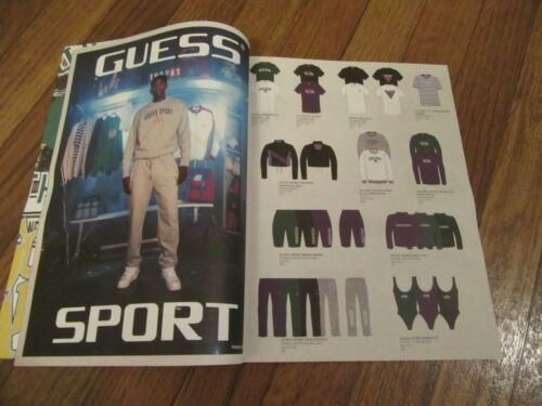 Guess Sport Lot 5 Los Angeles Catalog Lookbook Brochure 2019 Brand New 24 Pages