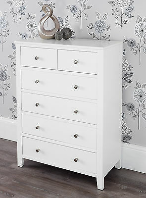 BROOKLYN Furniture white chest of drawers, bedside tables, wardrobe &moreBARGAIN