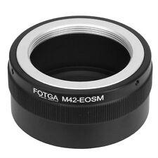 Fotga M42 Mount Objektiv Lens to Canon EOS M EF-M Mirrorless Camera Adapter Ring