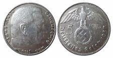 J367 5 Reichsmark Hindenburg m. H.   1937 J in SS  465012