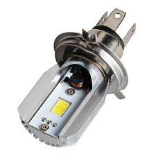 WHITE DC6V-80V Driving Light 8W LED Motorcycle Headlight H4 9003 Lamp Hi/Lo Beam
