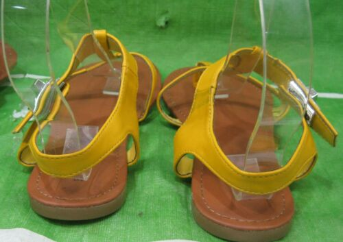new ladies Summer Yellow Womens Shoes Roman Gladiator Sandals Size 7.5
