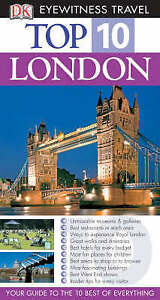 """AS NEW"" DK Travel, Eyewitness Top 10 Travel Guide: London (DK Eyewitness Travel"