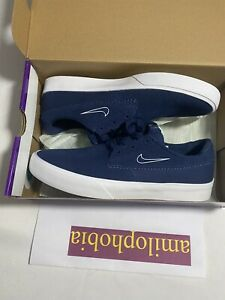 Details about New Mens Size 8.5 Navy Nike SB Shane Skateboarding Shoes