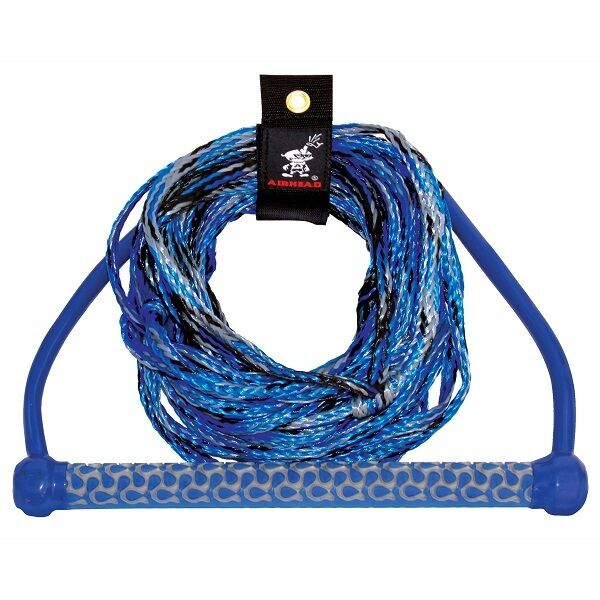 Airhead Wakeboard Waterski Rope 3 section 15  Handle 65ft C W RopeTidy