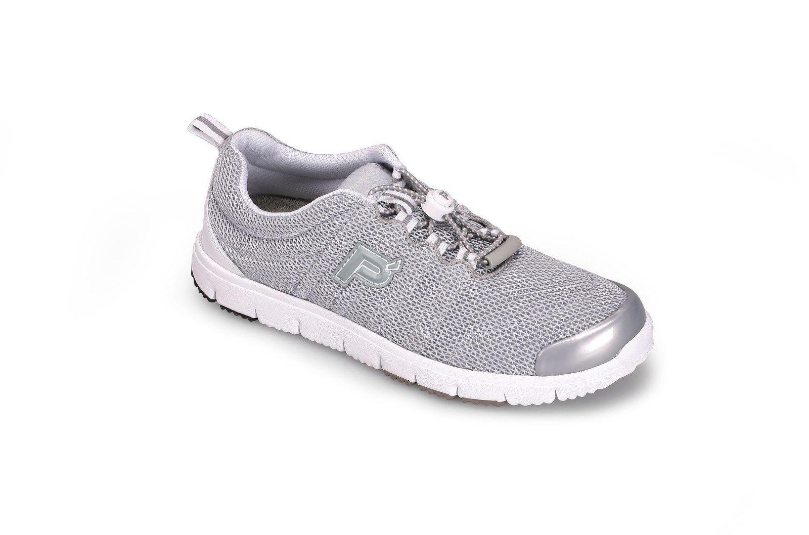 Propet Damens Travel Walker Light II W3239 - Silver Light Walker Weight Sneaker fc08af