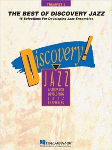 FABER Trumpet 3 Jazz band ; Various HL07470620 Best Of Discovery Jazz