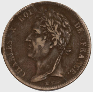 Raw-1827-H-French-Colonies-5-Centimes