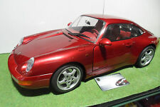 PORSCHE 911 993 CARRERA Bordeaux monté 1/8 POCHER voiture miniature