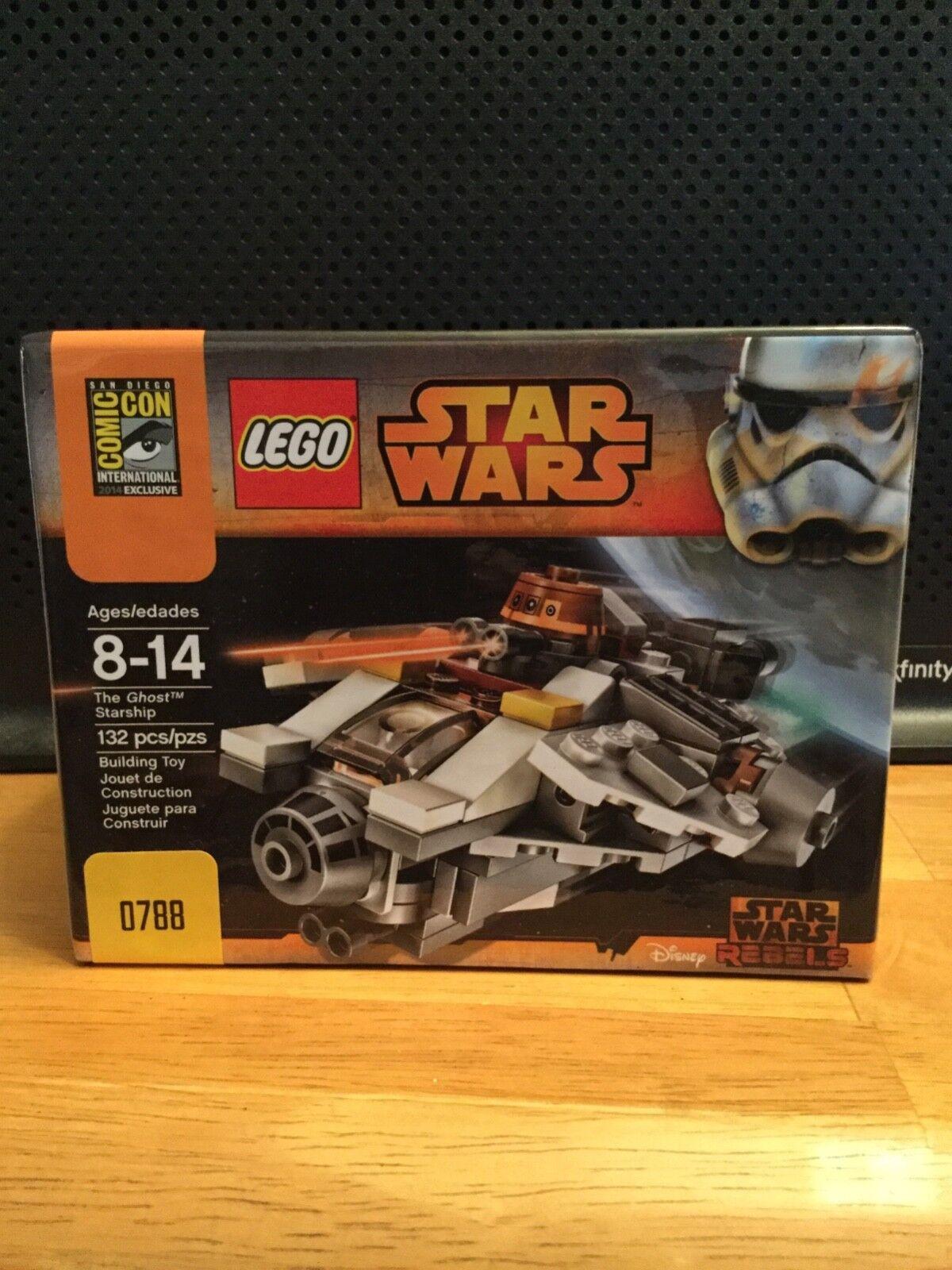 Lego SDCC 2014 stjärnornas krig Ghost stjärnaship Rebeller NY SEALD