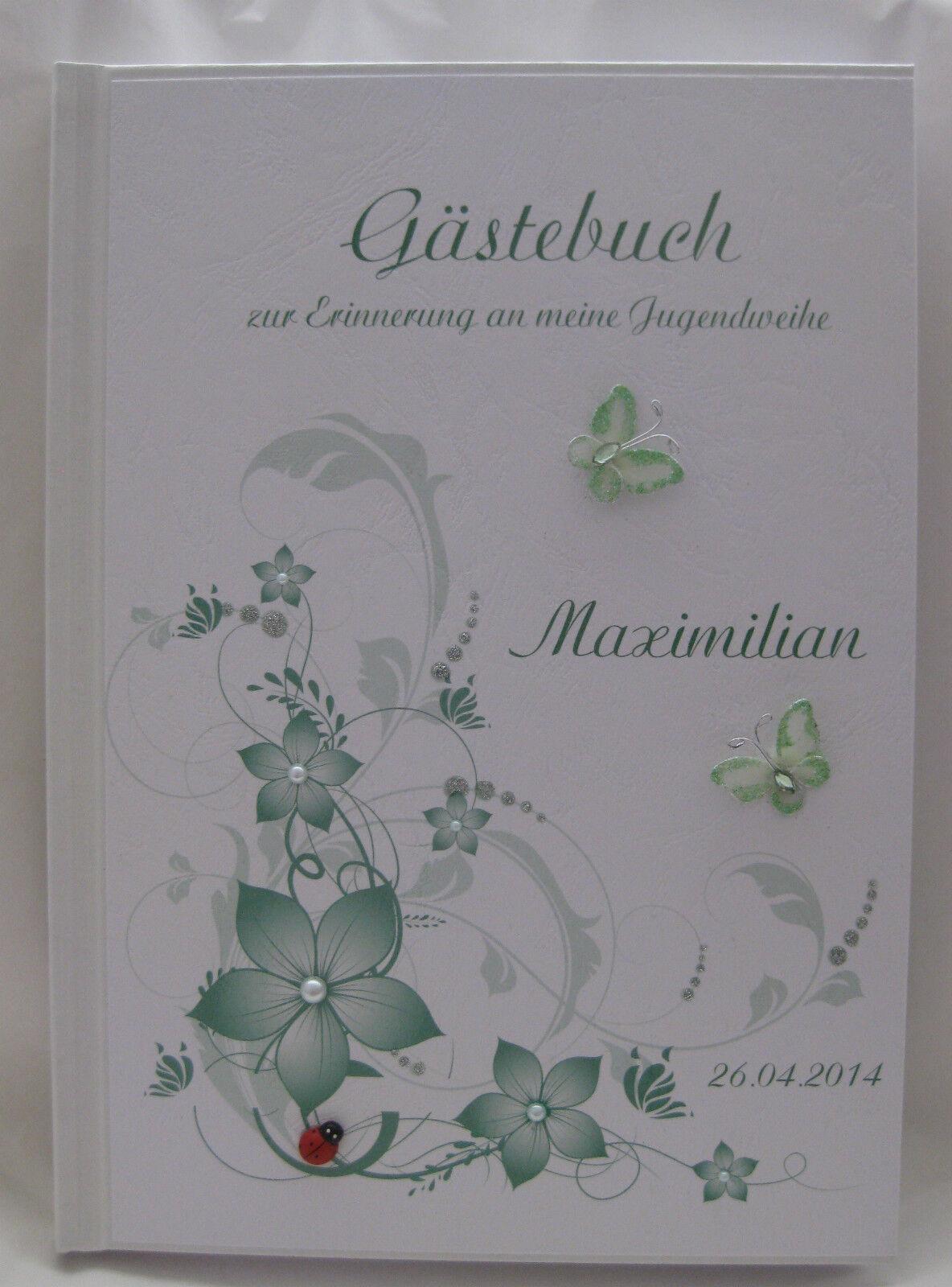 Gästebuch Jugendweihe Geschenk Deko Tischdeko Geschenkidee | Ausgezeichnetes Preis  | Schönes Design